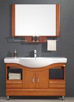 Solid wood oak French fashion pvc bathroom cabinet combination wash cabinet bathroom cabinet wash basin 5323