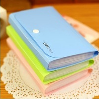 Stationery lackadaisical supplies orgnan multicolour travel bag multifunctional storage paper clip bag