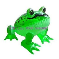 Free Shipping Child inflatable toys fur toy pvc toy - - - - - animal big frog