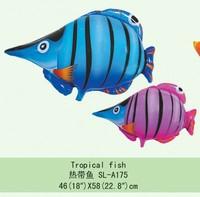Free Shipping Balloon cartoon balloon aluminum balloon space balloon - gun fish