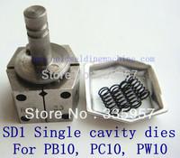 Single cavity welding dies for PB10