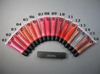 2013 new lip gloss, lip gloss tube, 16 colors choose, 16pcs \ 1lot, Free shipping!