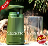 High quality new type paratroopers protable water filter remove all bacteria /rust /worms