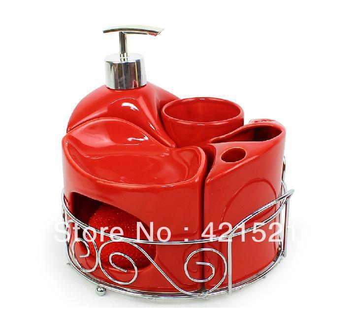 rode badkamer accessoires uit China rode badkamer accessoires