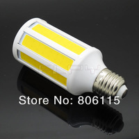 Free shipping High Power 10W 12W 15W COB SMD LED Corn Bulb Light E27/E14 led bulb Lamp use America market
