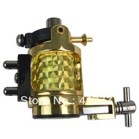 Free Shipping Top Quality Zinc-Alloy Rotary Liner Shader  Rotary tattoo machine gun Golden