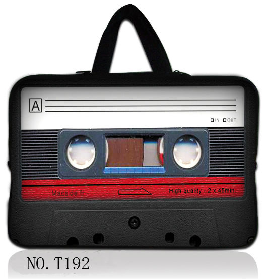 "13"" Cassette tape Laptop Netbook Carry Sleeve Bag Case For Apple Macbook Air,Pro New Model(China (Mainland))"