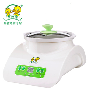 Free shipping Duck smart bb cooker electric porridge pot baby electric porridge pot ceramic electric cooker sy-a12c -