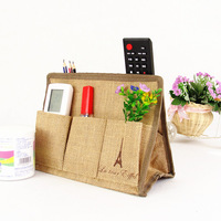 Zakka eco-friendly tissue remote control storage box multifunctional tissue storage