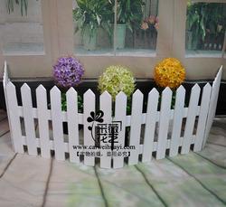 Witte plastic hek voor tuin decoratie groot en detailhandel in garden decoration resin bear - Houten tuin decoratie ...