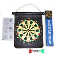 Free shipping 12-inch safety magnet dart board sided magnetic dartboard arm wrist exercises