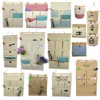 Zakka fluid waterproof storage bags small bag wall hanging storage bag many style for u choose !!!