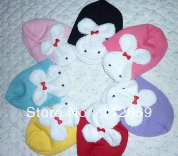 HOT sell  beanies rabbit  baby kids  Beanies   knitted  fashion Beanies cute  gilrs/boy  beanies,brand new