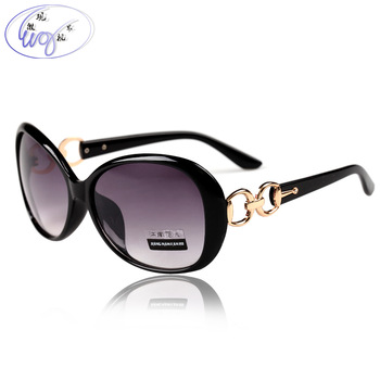 hot sale free soldier sport suit box Female 2013 sunglasses big box vintage diamond fashion anti-uv sunglasses