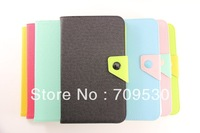 Samsung galaxy7.0 inch P3200 Tablet PC protective sleeve spell color models leather case, free shipping