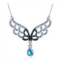 Crystal accessories necklace gorgeous elegant accessories pendant establisher b69 female