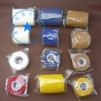 Medical 100% cotton self-adhesive bandage sports bandage pressurized bandage scar elastic ankle support wrist support
