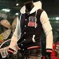 MEN'S Fashion Men baseball uniform clothes outerwear Jacket