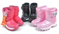 free shipping Fashion children shoes short in size male female child patent leather fashion snow boots high-leg boots37
