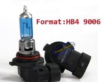 2pcs HB4 9006 Super White 6000K Fog Halogen Xenon Bulb 100W Car Headlight Lamp