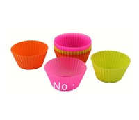 40pcs/lot,food grade silicon cake molds for cakes/Baking Cups high quality