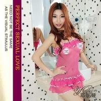 Free shipping Genuine Yeni Ya Sweet and sexy pink lotus leaf lace skirt