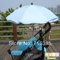 Free shipping Baby Stroller Umbrella Buggiest Umbrella Child umbrella car stand sunshade UV Protection Casual stroller 819