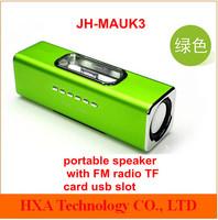2013 Fashion mp3 mp4 mobile phone laptop music speaker with FM radio TF card ,mini portable loudspeaker for iphone ipod