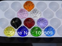 30mm 10pcs/lot Crystal Hanging Ball Prism for Home Decoraion