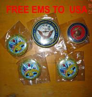 custom personalized ur photo us army seal marine coprs navy air force cartoon stars badge  44MM