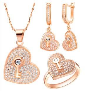Quality set heart gift novelty gift birthday girls