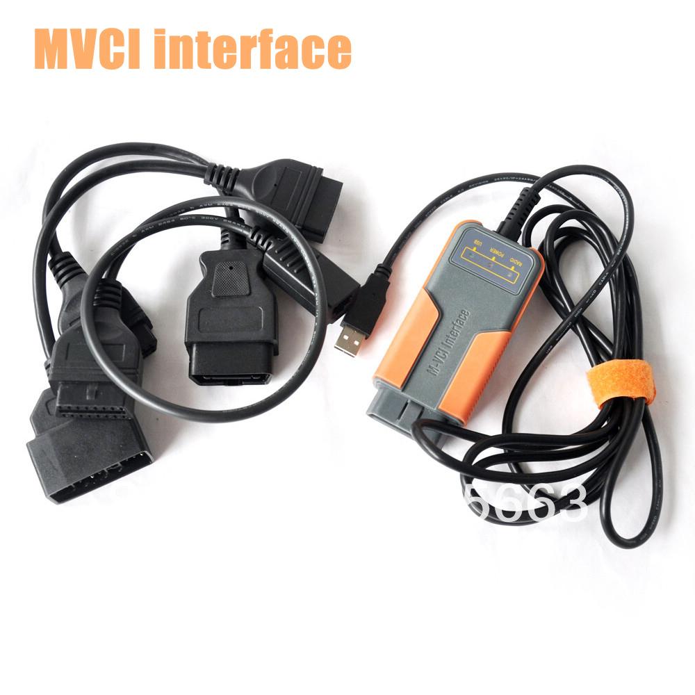10pcs Mvci Toyota Mvci Professional Diagnostic Interface For TOYOTA(China (Mainland))
