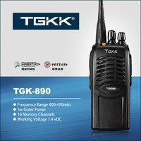 TGK-890  UHF 400-470MHz handheld 5W hf transceiver