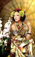 Luxury Costume Tang Suit Hanfu Japanese Geisha Kimono Classic Sexy Costume Women's Clothing