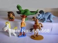 5 sets/Lot (6pcs/set) Big Size TOY STORY 3 BUZZ LIGHTYEAR WOODY Figures toy story figures