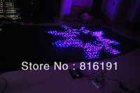 3x6M RGB LED Video Curtain SMD 5050/ Fireproof Velour Cloth 1800pcs+Controller 8CHS SD&Sound&Auto&DMX