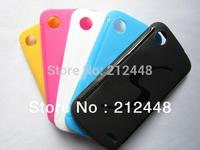 lenovo a800 cover(black/white/yellow/blue)+lenovo a800 film,lenovo a800 case+lenovo a800 screen protector,free shipping