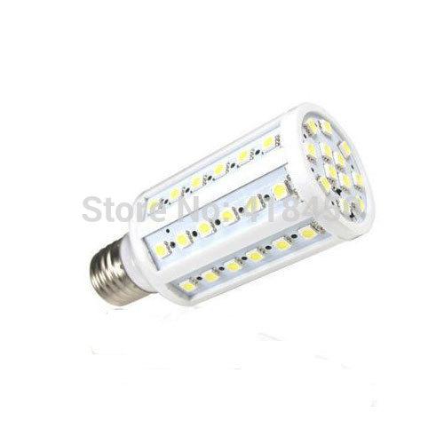 6pcs E27 110V 6000K-6500K White Ultra Bright 10W 60LEDs 5050 SMD LED Corn Corncob Light Lamp Bulb Aluminum Substrate(China (Mainland))