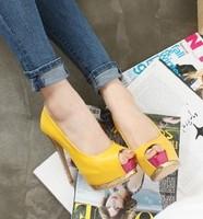 2013 fashion elegant paillette open toe sandals shallow mouth color block decoration platform high-heeled shoes open toe shoe
