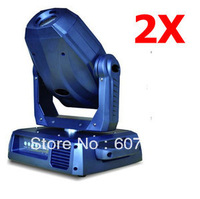 hot !2pcs 60W LED Moving Head Light RGB Spot Light 16CHANNELS DMX Stage Lighting