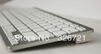 Bluetooth Wireless White Keyboard for PC Macbook Mac ipad 2 iphone 8371 10pcs  Free shipping