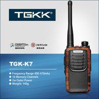 TGK-K7 handheld uhf ham radio
