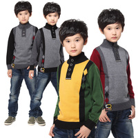 2013 spring male child cashmere sweater child sweater sweater children's clothing