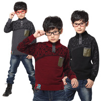 Child casual sweater autumn cashmere sweater boys clothing sweater BALABALA