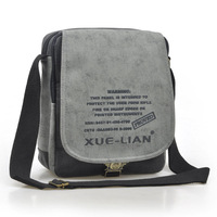 2013 canvas vintage casual sports man bag the trend of fashion man bag one shoulder cross-body outdoor male