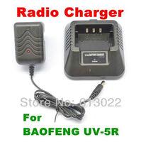 Li-ion Radio Battery Charger 100v-240v for BF-UV5R BaoFeng UV-5R Walkie Talkie Interphone Transceiver Two-Way Radio A0850J Eshow