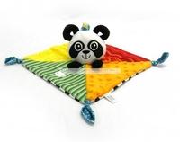 5pcs/lot,baby comforter bedding sets Lamaze panda model,baby rattle toy,cute comforter set for infant, kids pacifier