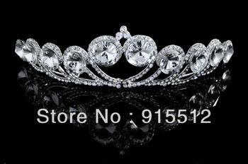 Wholeale 2013 Bling Bling Crystal Rhinestone Pageant Wedding Crowns