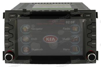 2 din car stereo sound video auto gps navigation multimedia system for Kia Soul
