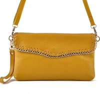 2013 women's elegant handbag small bags one shoulder cross-body women's genuine leather clutch